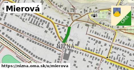 ilustrácia k Mierová, Nižná - 0,72km