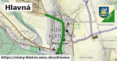 ilustrácia k Hlavná, Nižný Klátov - 0,77km