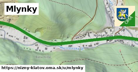 ilustrácia k Mlynky, Nižný Klátov - 1,68km