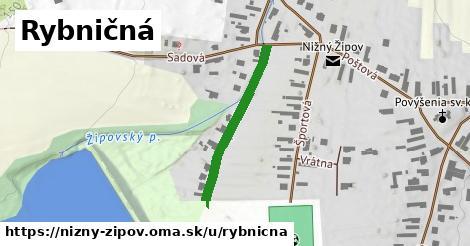 ilustrácia k Rybničná, Nižný Žipov - 270m