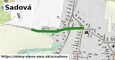 ilustrácia k Sadová, Nižný Žipov - 342m