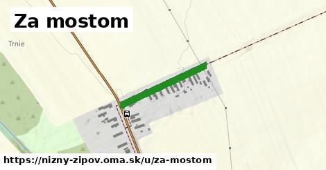 ilustrácia k Za mostom, Nižný Žipov - 216m