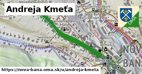 ilustrácia k Andreja Kmeťa, Nová Baňa - 0,72km