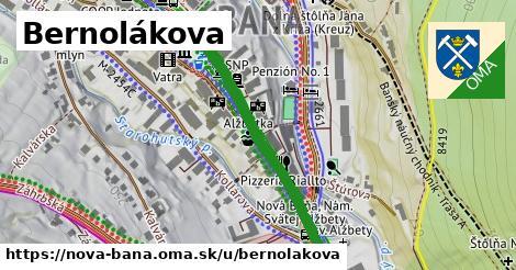 ilustrácia k Bernolákova, Nová Baňa - 347m