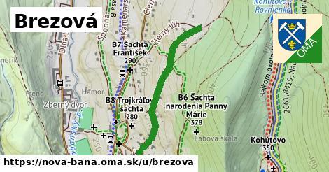 ilustrácia k Brezová, Nová Baňa - 697m