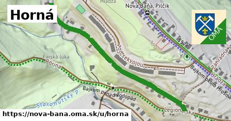 ilustrácia k Horná, Nová Baňa - 574m