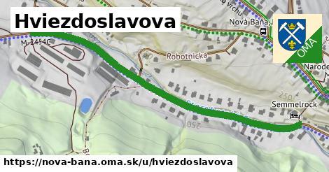 ilustrácia k Hviezdoslavova, Nová Baňa - 671m