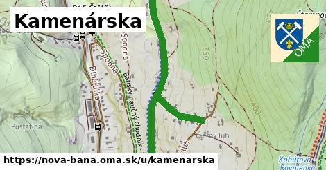 ilustrácia k Kamenárska, Nová Baňa - 2,4km