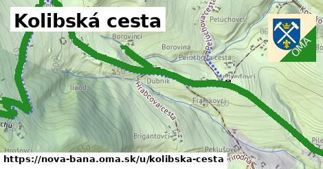 ilustračný obrázok k Kolibská cesta, Nová Baňa