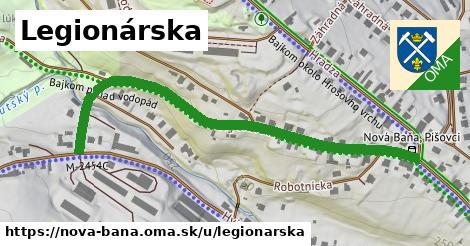 ilustrácia k Legionárska, Nová Baňa - 651m
