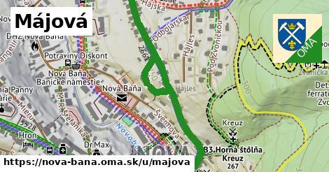 ilustrácia k Májová, Nová Baňa - 592m