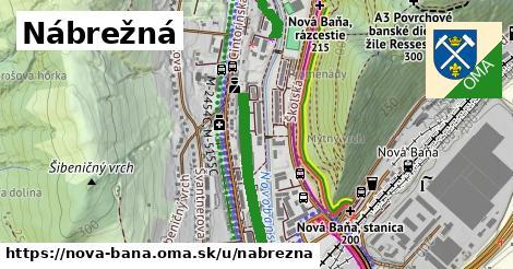 ilustrácia k Nábrežná, Nová Baňa - 699m