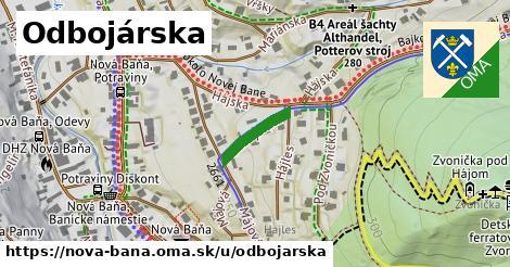 ilustrácia k Odbojárska, Nová Baňa - 120m