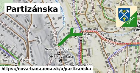 ilustrácia k Partizánska, Nová Baňa - 184m