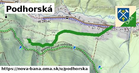 ilustračný obrázok k Podhorská, Nová Baňa