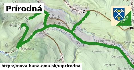 ilustračný obrázok k Prírodná, Nová Baňa