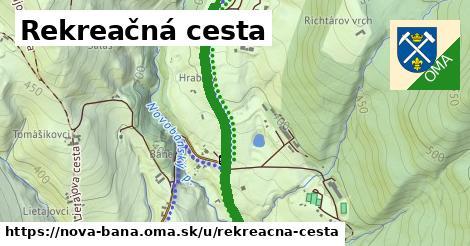 ilustrácia k Rekreačná cesta, Nová Baňa - 4,4km