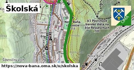 ilustračný obrázok k Školská, Nová Baňa