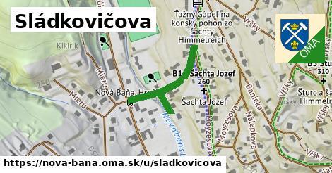 ilustrácia k Sládkovičova, Nová Baňa - 272m