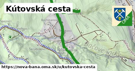 Kútovská cesta, Nová Baňa