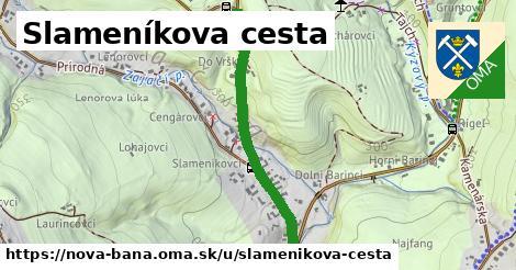 Slameníkova cesta, Nová Baňa