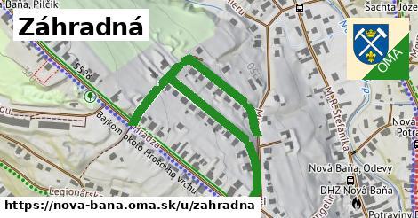 ilustrácia k Záhradná, Nová Baňa - 664m