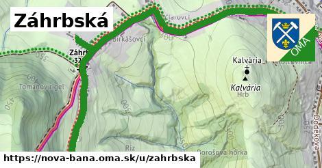 ilustrácia k Záhrbská, Nová Baňa - 2,8km