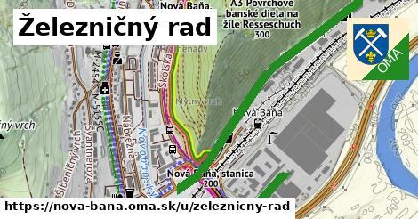 ilustrácia k Železničný rad, Nová Baňa - 4,3km