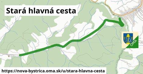 ilustrácia k Stará hlavná cesta, Nová Bystrica - 5,1km