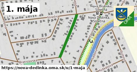 ilustračný obrázok k 1. mája, Nová Dedinka