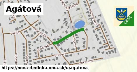 ilustrácia k Agátová, Nová Dedinka - 189m