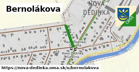 ilustračný obrázok k Bernolákova, Nová Dedinka