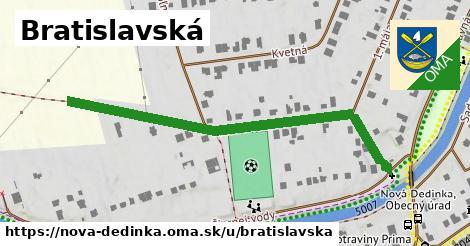 ilustrácia k Bratislavská, Nová Dedinka - 569m