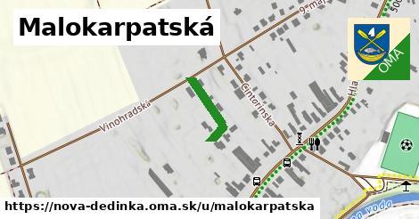 ilustrácia k Malokarpatská, Nová Dedinka - 138m