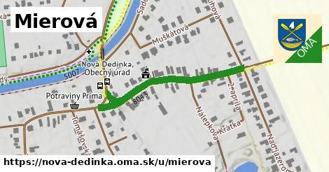 ilustračný obrázok k Mierová, Nová Dedinka