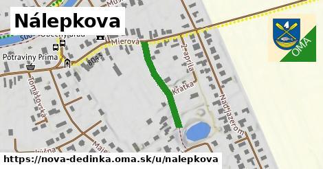 ilustrácia k Nálepkova, Nová Dedinka - 215m
