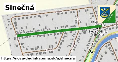 ilustrácia k Slnečná, Nová Dedinka - 536m