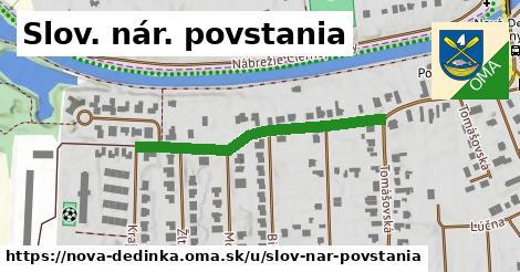ilustrácia k Slov. nár. povstania, Nová Dedinka - 368m