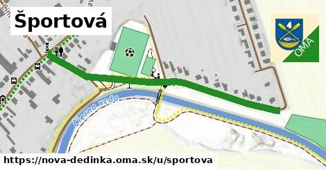 ilustrácia k Športová, Nová Dedinka - 555m