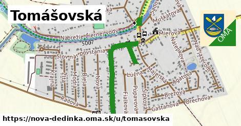 ilustrácia k Tomášovská, Nová Dedinka - 0,77km