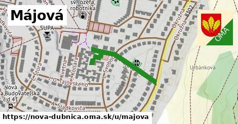 ilustrácia k Májová, Nová Dubnica - 294m