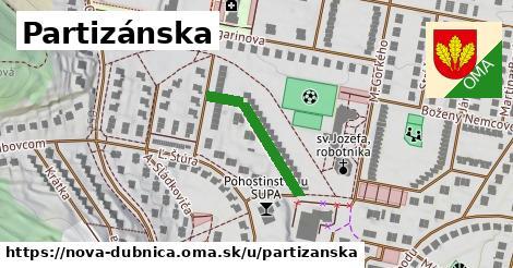 ilustrácia k Partizánska, Nová Dubnica - 290m