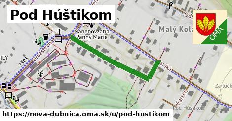 ilustrácia k Pod Húštikom, Nová Dubnica - 345m