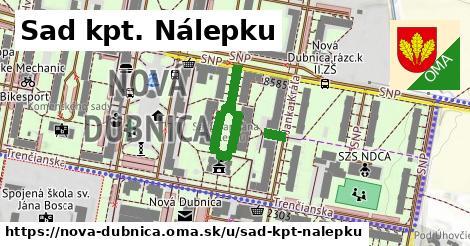 ilustračný obrázok k Sad kpt. Nálepku, Nová Dubnica