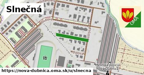 ilustrácia k Slnečná, Nová Dubnica - 158m
