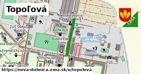 ilustrácia k Topoľová, Nová Dubnica - 198m