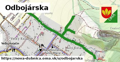 ilustrácia k Odbojárska, Nová Dubnica - 1,57km