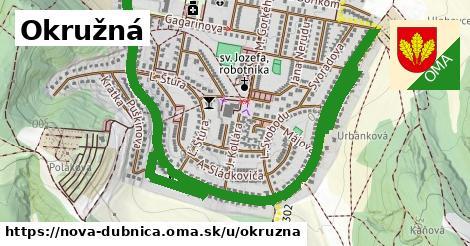 ilustrácia k Okružná, Nová Dubnica - 2,3km