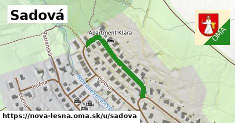ilustrácia k Sadová, Nová Lesná - 262m