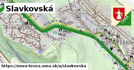 ilustrácia k Slavkovská, Nová Lesná - 1,78km